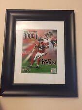 Matt Ryan Autograph 8x10 Framed Photo Atlanta Falcons 2008 ROY
