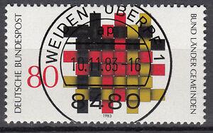 BRD 1983 Mi. Nr. 1194 gestempelt WEIDEN OBERPF 1 , mit Gummi TOP! (16845)