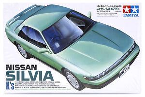 Tamiya 1/24 Nissan Silvia Scaled Plastic Model Kit