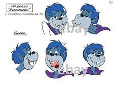 Super Friends GLEEK HEADS MODEL SHEET PRINT A Hanna Barbera Cartoon