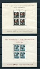 1945.BARCELONA.EDIFIL NE29/30**.NUEVOS SIN FIJASELLOS.(MNH).CAT 520 €