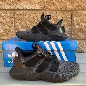 Adidas Prophere J Men's Classic Black Mesh Athletic Running Sneaker AQ0510