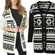 Acrylic None Geometric Jumpers & Cardigans for Women