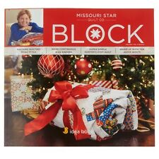 Quilt Magazine ~ BLOCK - HOLIDAY 2015 VOL 2 ISSUE 6 ~ Missouri Star Quilt Co