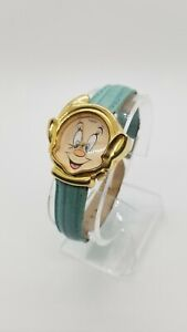 Timex Disney Snow White Happy the Dwarf Metal Watch