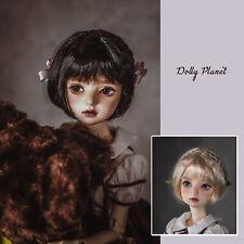 QQ-102  BJD Doll  Wig {Dolly Planet} SD DZ DOD VOLKS SOOM LUTS Doffie Brown Hair