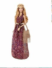 """THE LOOK ""  Barbie doll MUSIC FESTIVAL 3pc. HIPPIE dress (DRESS ONLY NO DOLL)"