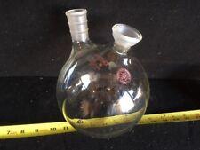 FJ-075a Pyrex 2000 mL 2 Neck Round Boiling Flask Laboratory Glass 35/20