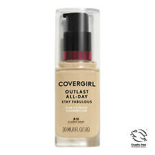 Covergirl Outlast All-Day Stay Fabulous Foundation, 810 Classic Ivory Exp FE/20