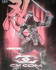 CY COM FIREBLADE Cyborg Night Ninja BBI  TAKARA BLUE BOX TOYS  NIB