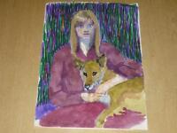 ARTS XX° / RUSZKOWSKI Zdzislaw (1907-1990) OEUVRE ORIGINALE 50/ 60 Pologne UK