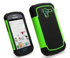 Impact Dual Layer Shock Proof Case For Samsung Galaxy Ace 2 II-E T599 - Green