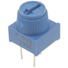 Single Turn Finger Preset Trimmer Potentiometer 1K