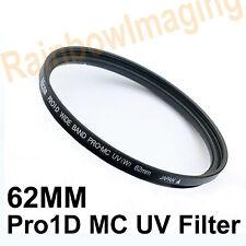 Nicna 62mm Pro1D Pro 1D Slim MC UV Japan Filter MCUV