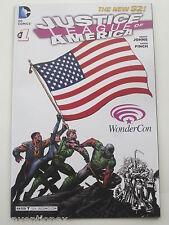 Wondercon DC Comics Justice League of America #1 Comic SDCC The New 52