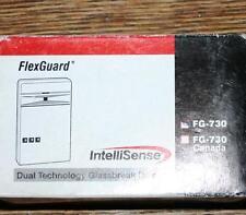 flexguard glassbreak detector intellisense dual technology fg-730 new in box+ext
