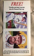 1987 Baseball Cards Magazine Babe Ruth Wade Boggs 1952 Bowman Uncut Sheet