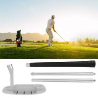Four-section Portable Golf Putter Club for Golf Putting Practice Training Access