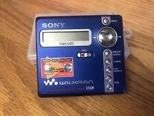 Walkman Portable Mini Disc Recorder MZ-N707 with 3 Discs