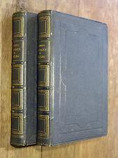 R. Töpffer PREMIERS & NOUVEAUX VOYAGES EN ZIGZAG Garnier 1860-64 2 vol. ALPES