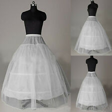 Reifrock Petticoat Unterrock Brautkleid Hochzeit Ball Krinoline 3 Ringe Neu