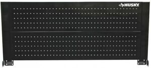 Husky Pegboard Tool Storage Holder Rack Back Wall For Mobile Workbench Steel New