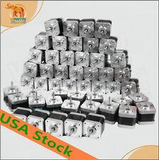 [Big Sale] WANTAI  60 pcs Nema17 Stepper Motor 70oz-in 48mm 2.5A 2Ph 3D printer