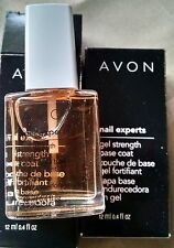 AVON NAIL EXPERTS GEL STRENGTH BASE COAT (LOT OF 2)NEW IN BOX