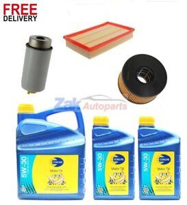 UK SELLER Service Kit Oil Air Fuel Filter For Transit Mk7 2.4 Tdci Rwd Diesel