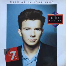 "VINYLE - Rick Astley – Hold Me In Your Arms Vinyl LP Album 1988 - 12"" -33T"