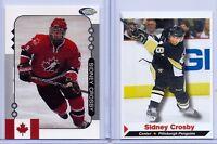 """(2) Sydney Crosby 2005 Sport Illustrated '1. Ever Bedruckt """" 2 Karte Rookie Lot"""