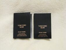 Tom Ford 'Noir Pour Femme' EDP Perfume Set of 2 Sample Spray Vials Beautiful!