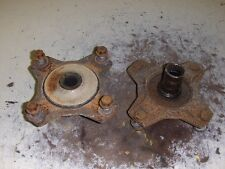 95 SUZUKI 300 KING QUAD 4X4 ATV FRONT HUBS W/ GOOD SPLINES E314