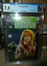 DC COMICS CGC 7.0 VF 1st appearance Swamp Thing House of secrets 92 grey tone