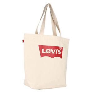 Levi's NEW Women's Batwing Tote Bag Ecru Neutral BNWT