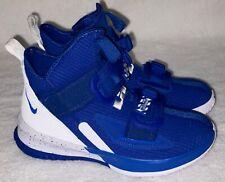 Nike LeBron Soldier 13 Sfg Royal Blue White Basketball Shoes Youth Boys Sz 4.5 5