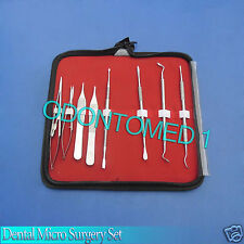 8 Dental Micro Surgery Instruments Surgical Dental With Pouch,DN-2017
