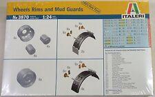 Italeri 1/24 Wheels and Mud Guards Accessories II Kit