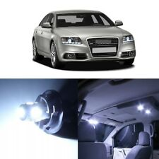 18 x Error Free White LED Interior Light For 2005 - 2011 Audi A6 S6 C6 + TOOL
