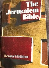 The Jerusalem Bible Readers Edition Doubleday Books Preowned FREE Shipping