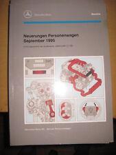 Einführungsschrift  Mercedes Neuerungen1995 - M 111 - M 119 - M 120 - R 129 ...
