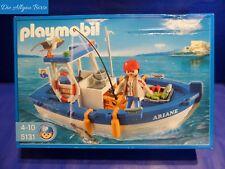 Playmobil 5131 barco pesquero ariane barco de pesca barco Boot raramente nuevo embalaje original