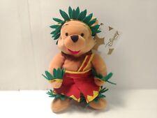 "Winnie The Pooh Honolulu Mini Bean Bag 8"" Stuffed Animal     t1925"