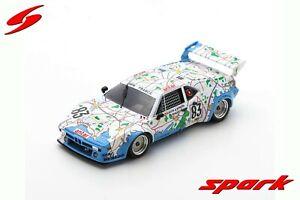 S6402 Spark: 1/43 BMW M1 #83 24H Le Mans 1980 D. Pironi - D. Quester - M. Mignot
