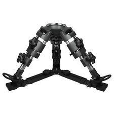 Pro Mini DSLR Video Camera Tripod Legs for 100mm Bowl Head Low Angle Shooting