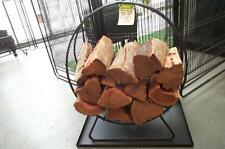 WOOD RING FIREWOOD STORAGE WOODHEATER POTBELLY FIRE WOOD STORAGE B/New
