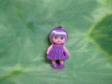 "Berenguer 5-1/2"" Lil Cutesies Doll Kemper Acrylic Violet Wig Custom Crochet Set"