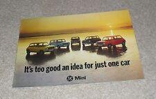 Austin Mini Brochure 1976 - 850 1000 Clubman Saloon & Estate 1275 GT 3040/G