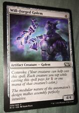 Will-Forged Golem - 2014 Core Set - Magic the Gathering Deck Master Card