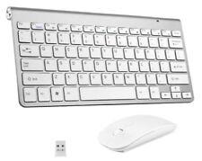 Wireless Keyboard Silent Mouse Combo Set USB for Mac Pro Apple iMac Comp Desktop